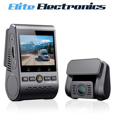 VIOFO A129 Pro Duo 4K 64GB UHD Dual Lens 2 Channel GPS WiFi Dash Cam