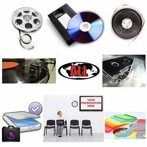 Video, Audio, Film Conversion to DVD or CD