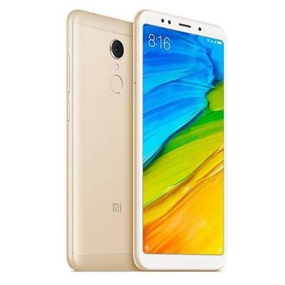 XIAOMI REDMI NOTE 5 32GB GOLD DUAL SIM FACTORY UNLOCKED SMARTPHONE BRAND NEW