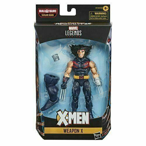 "X-Men Age Of Apocalypse No Sugar Man BAF Marvel Legends X-MAN 6"" Action Figure"