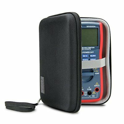 Hard Digital Multimeter Carrying Case By Usa Gear - Voltage Tester Travel Cas...