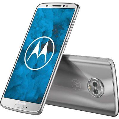 Motorola Moto G 6st Generation - 32GB - Silber (Unlocked) (Dual SIM)