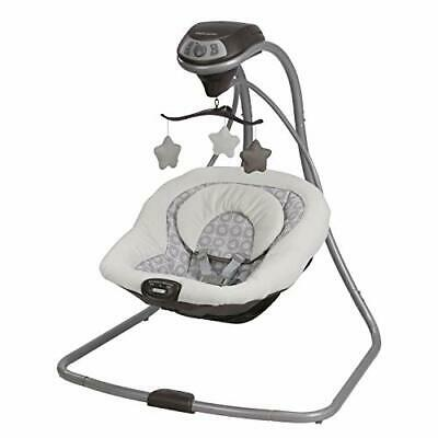 Graco Simple Sway Baby Swing | 2 Speed Vibration, Abbington NEW | Ships FAST🚀