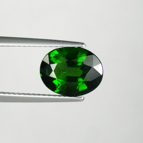 2.69 ct BEST GRADE CHROME GREEN * NATURAL CHROME DIOPSIDE Oval See Vdo 4278  6C