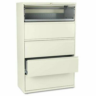 """Hon 800 Series Full-pull Lateral File - 42"""" X 19.3"""" X 67"""" - Steel - 2 X"""