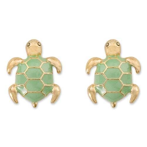 Gold Turtle Earrings Ebay