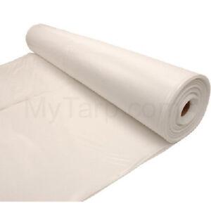 Plastic Sheeting 10 Mil Ebay