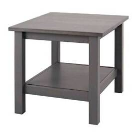 Ikea Hemnes Grey Brown Side Table 55cm x 55cm - or Small Coffee table