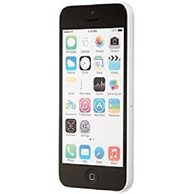 Apple iPhone 5c - 16GB - White Cricket Wireless Excellent Condition Smartphone