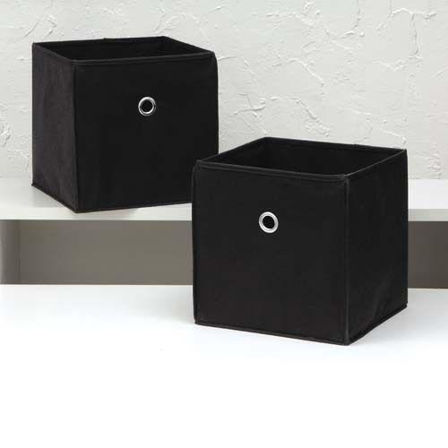collapsible storage cube ebay. Black Bedroom Furniture Sets. Home Design Ideas