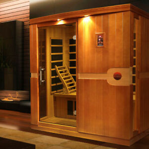 Sauna dynamic madrid 3 personnes