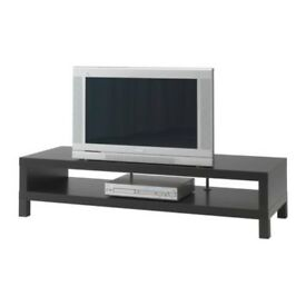 Ikea Lack TV Bench Black/Brown