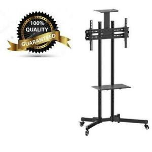 "Weekly Promo!  TV cart with shelf for 37-70"" TV with shelf and wheels,T1028 $129(was$199)"