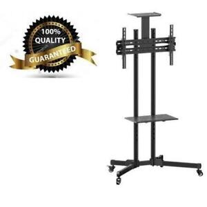 "Weekly Promo!  TV cart with shelf for 37-70"" TV with shelf and wheels,T1028 $149(was$199)"