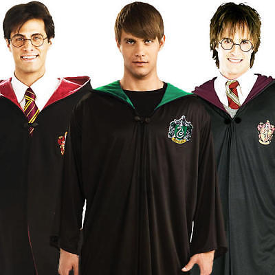 Harry Potter Robes Adults Fancy Dress Wizard Book Week Character Mens Costumes - Harry Potter Character Costume