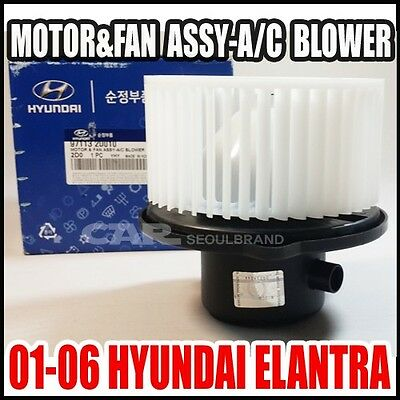 Genuine Hyundai 97113-1E000 Fan and Motor Assembly