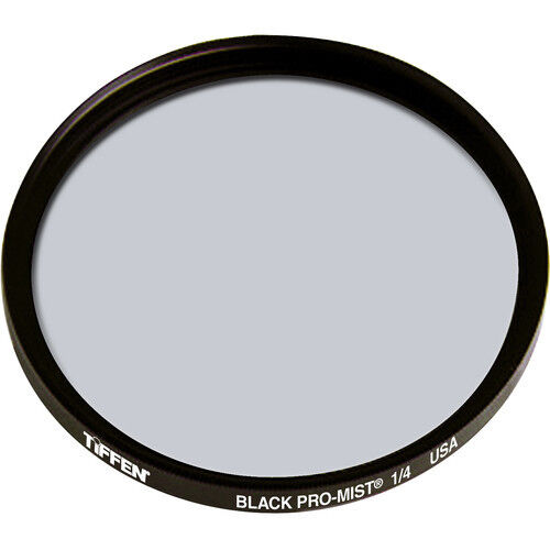 New Tiffen 77mm Black Pro-Mist 1/4 Filter Diffusion Filters MFR # 77BPM14