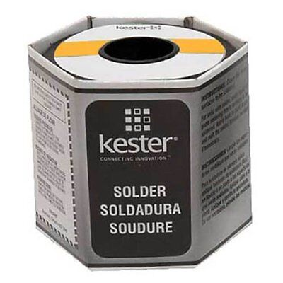 Kester 24-6040-0039 Rosin Cored Wire Solder Roll 44 Activated 0.040 Diameter