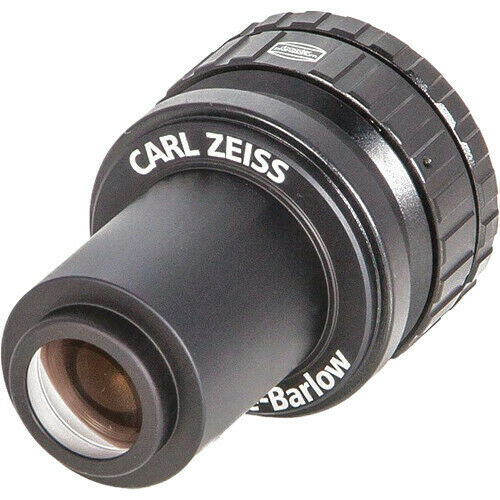 "NEW! Baader Planetarium Carl Zeiss 2x Abbe Barlow Lens (1.25""): 1603321/ZBARLOW"