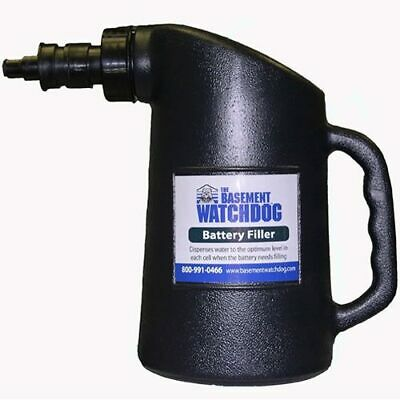 Basement Watchdog Battery Fill Bottle