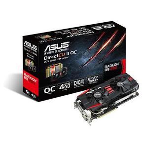ASUS AMD R9 290 DirectCUII OC 4GB PCI-E graphics card
