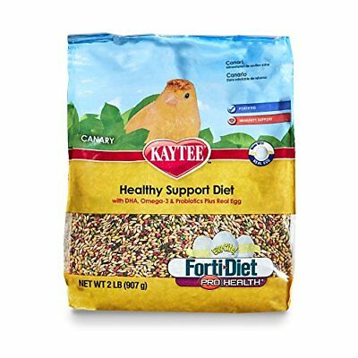 Kaytee Forti Diet Egg-Cite Bird Food for Canaries 2-Pound Bag