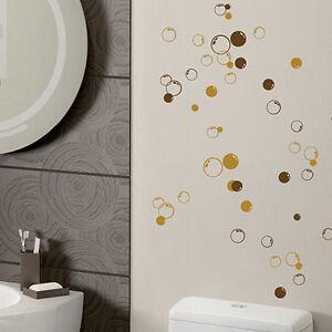 58 bolle muro bagno vetro doccia piastrella decorazioni for Adesivi per piastrelle doccia