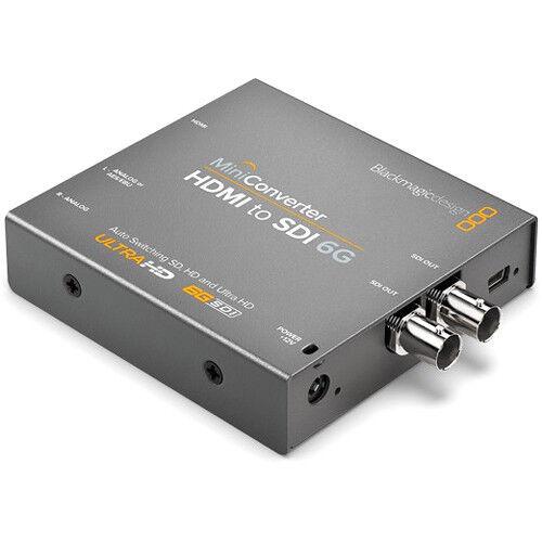 Blackmagic Design Mini Converter - HDMI to SDI 6G CONVMBHS24K6G-Ships from Miami