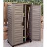 Outdoor Storage Cabinet Garden Vertical Partition Plastic Horizontal Shed Garage