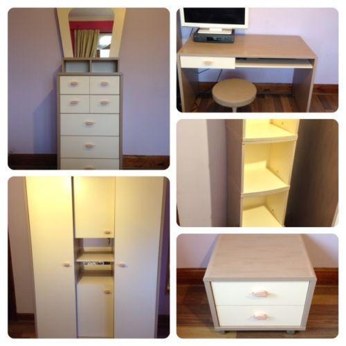 girls bedroom furniture set ebay