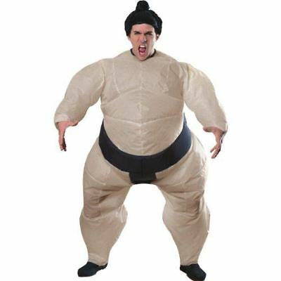 Sumo Wrestler Inflatable (Inflatable Sumo Wrestler Costume - Adult Standard - Up to 46
