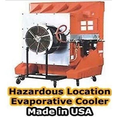 "Portable Evaporative Cooler - 36"" Direct Drive - 7 Amps - Hazard Explosion Proof"