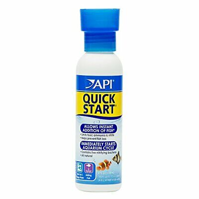 API Quick Start Water Conditioner for Fish Aquarium Water Treatment 4 Ounce Fish Water Treatment