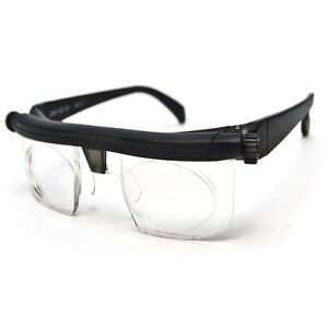 As Seen on TV The Instant 20/20 Vision Adjustable Glasses Reading Watching TV