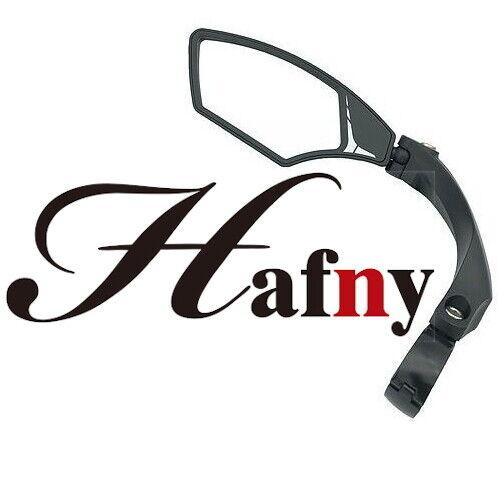 Hafny HF-M900LS-FR01 Adjustable Clamp-On Mirror Handlebar Bike Auto Grade Lens
