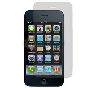 6X CLEAR SCREEN PROTECTOR COVER For Apple iPhone 3G 3GS