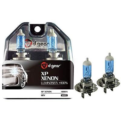 Usato,  Lampadine D-GEAR - XP XENON H7 55W +100% Bianco 2pz 4800 KELVIN usato  Livorno