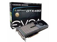 Graphics card EVGA GeForce GTX480 768MB
