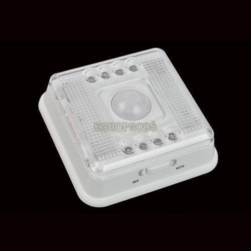battery motion sensor light ebay. Black Bedroom Furniture Sets. Home Design Ideas