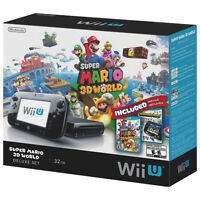 Wii U Console - Almost New With Games - Played 5 times