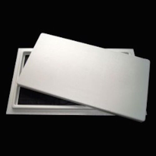 "Crawl Space Access Door - White - 16""x24"" Encapsulation Foundation Sealed Pest"