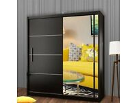 💢💢BRAND NEW MIRRORED SLIDING DOORS WARDROBES ON SALE WITH FREE DELIVERY ALL OVER UK 💚🟢