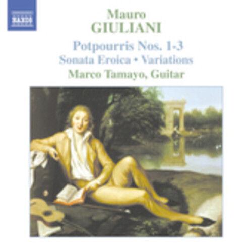 Marco Tamayo, M. Giuliani - Guitar Music 2 [New CD]