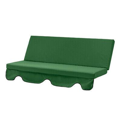 Green 180cm Replacement Swing Seat Hammock Cushion Pad Garden Waterproof Outdoor
