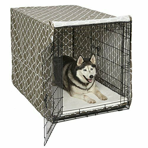 "48"" Extra Large Giant Breed Dog Crate Kennel XL Pet Wire Cag"