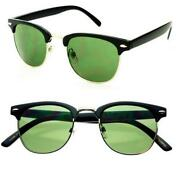 Horn Rimmed Sunglasses