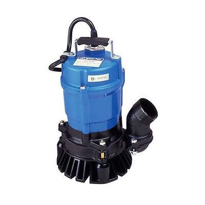 Tsurumi Hs2.4s 53 Gpm 2 Submersible Trash Pump Clean Out Pump Waterfall Pump