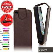 Brown Leather Case for iPhone 4S