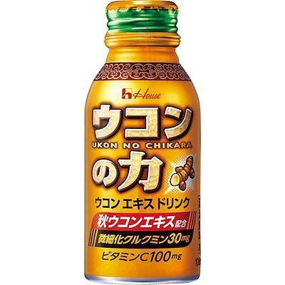 Ukon no Chikara Energy Drinks 100ml x 6 F/S House Wellness Foods Japan