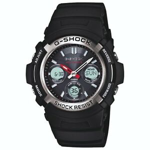 G Shock AWG-M100 Men's Analog/Digital Watch-Black-NEW IN BOX